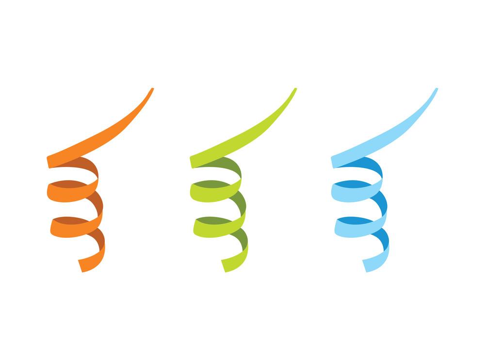 Three Ribbon In Diffrent Color