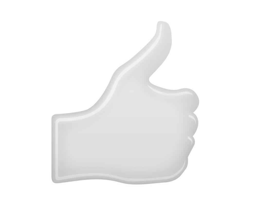 Thumbs Up White