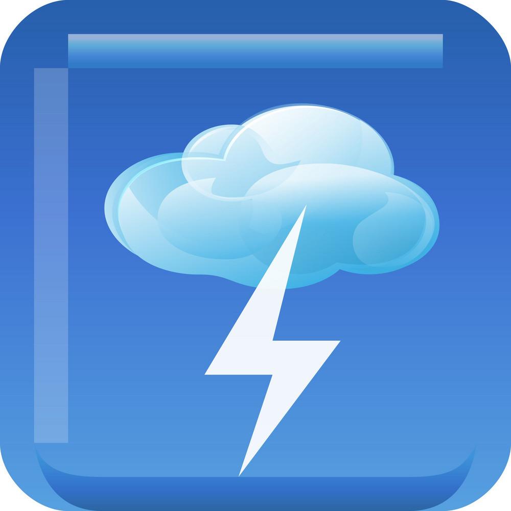 Thunderstorm Tiny App Icon