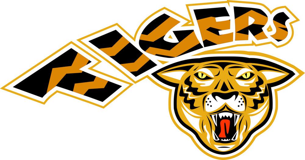 Tiger Sports Mascot Head Front
