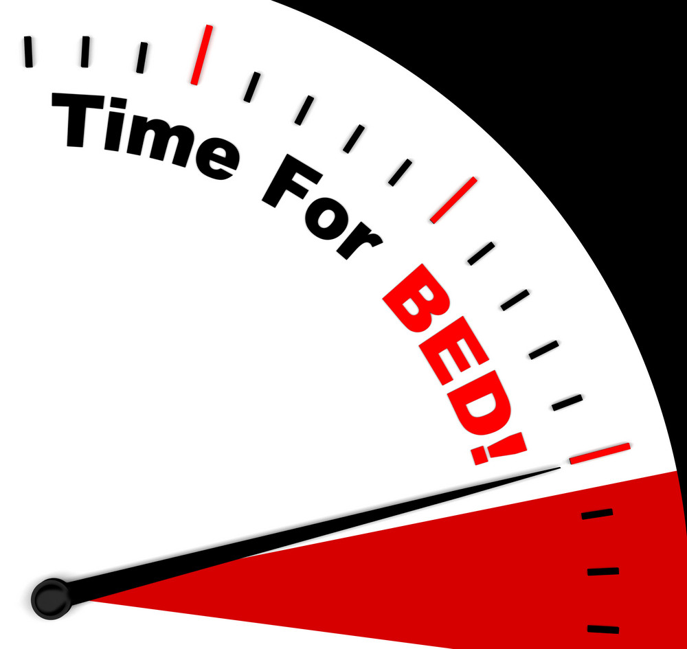 Time For Bed  Means Insomnia Or Tiredness