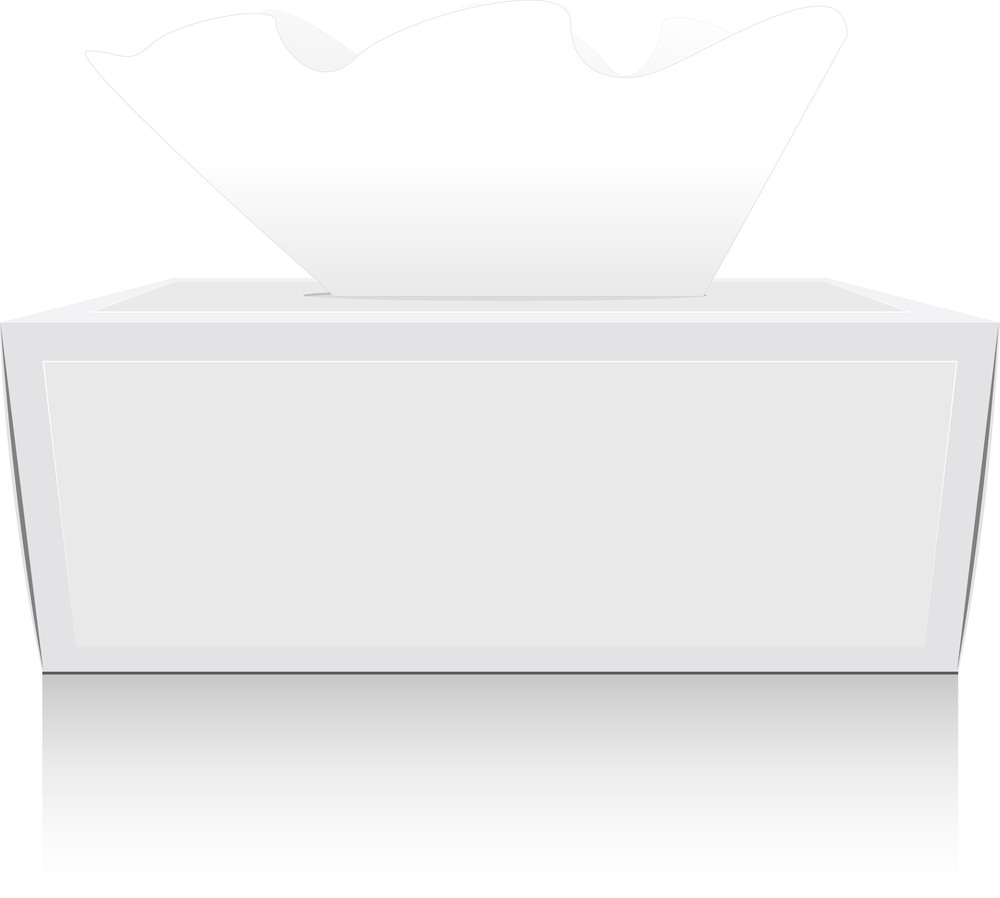 Tissue Paper Box With Tissue