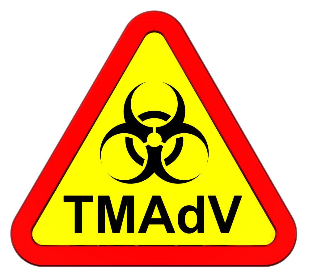 Tmadv Virus - Warning Sign.