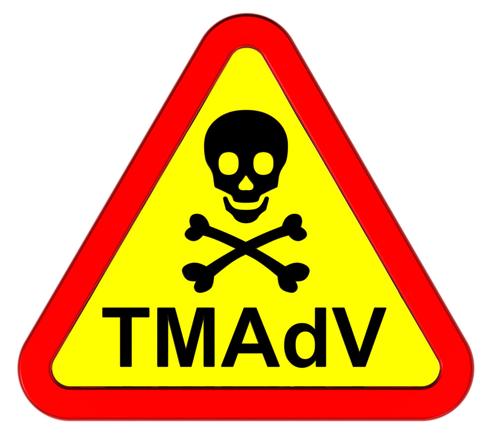 Tmadv Virus - Warning Sign.