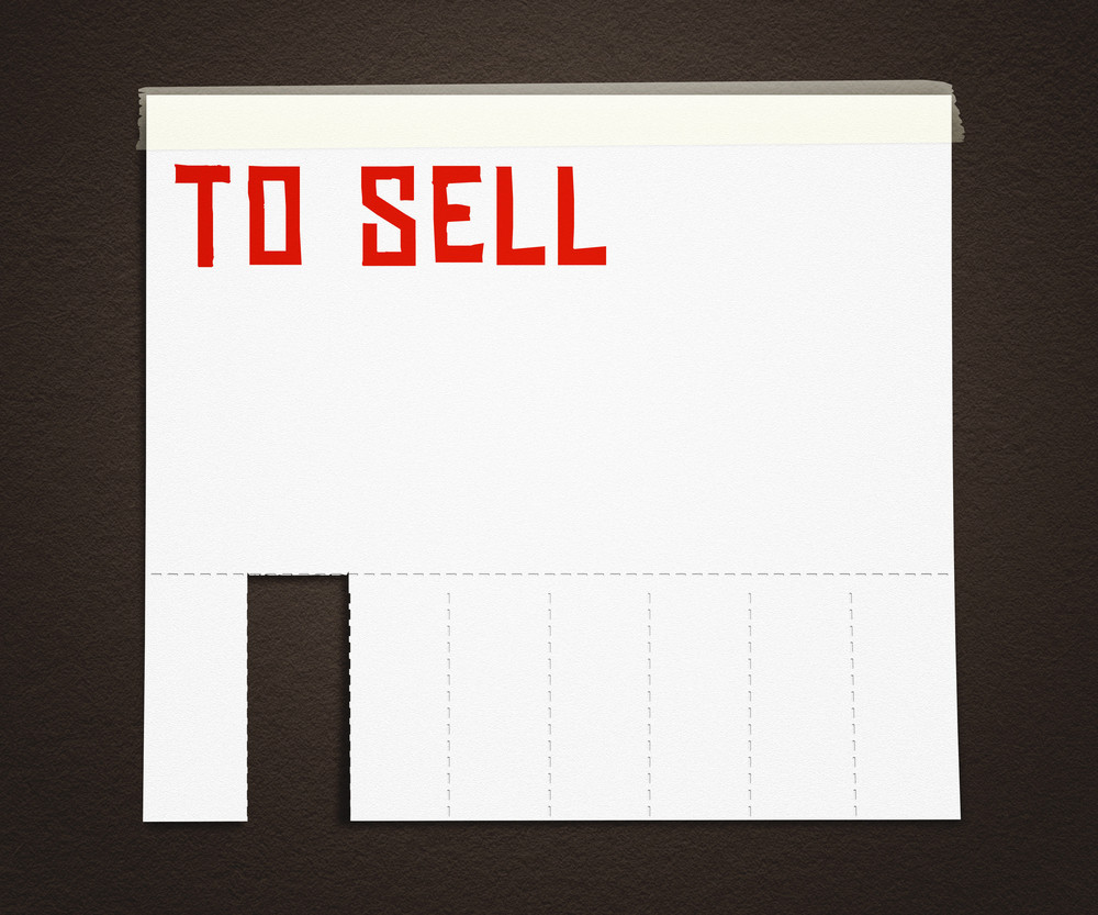To Sell Advertisement Poster Background