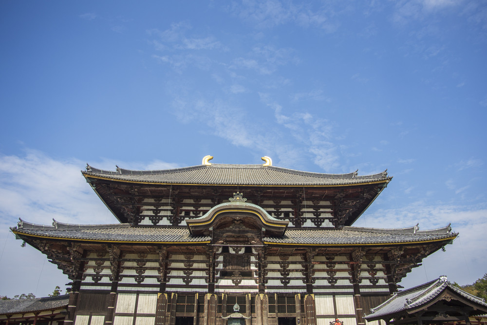 Todai-ji Temple. Nara. Japan