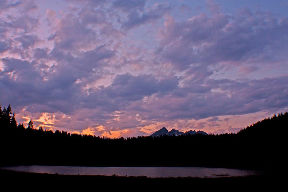 Todd Lake Sunset