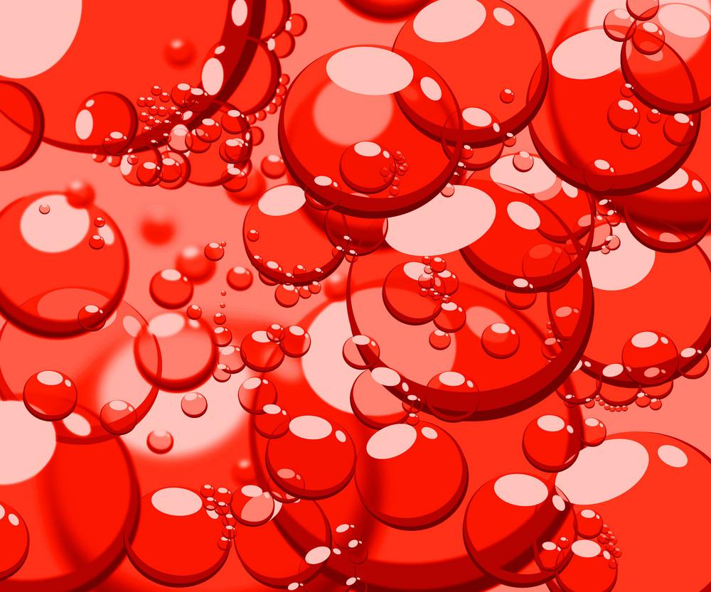 Tomato Red Bubbles