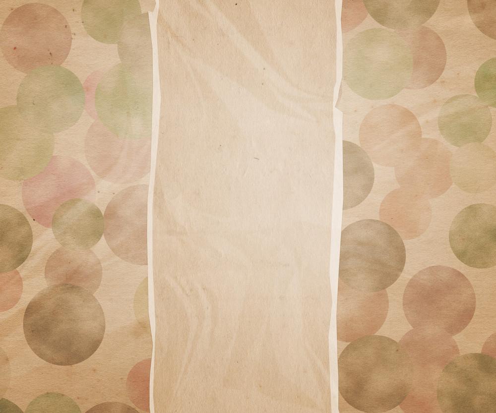 Torn Dot Paper Background