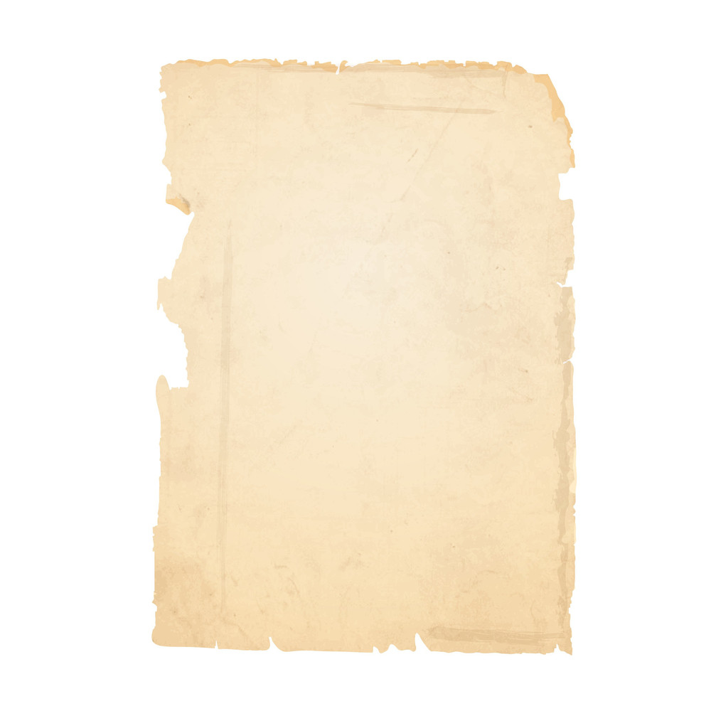 Torn Sheet Of Old Paper