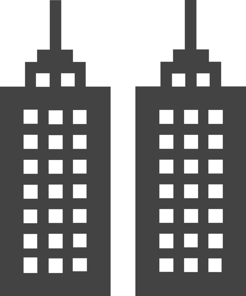 Town Glyph Icon