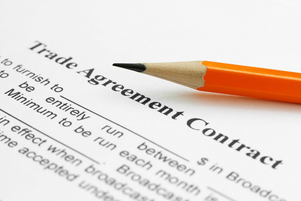Trade Agreement Contract Royalty Free Stock Image Storyblocks