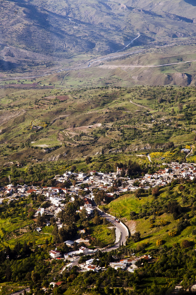 Traditional Mediterranean Mountain Village