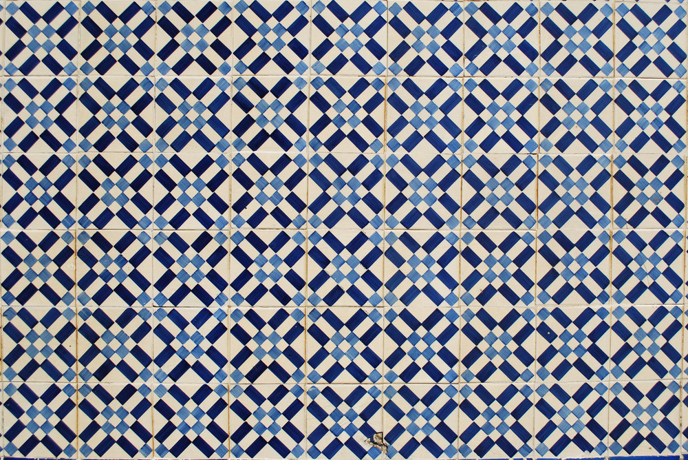 Traditional Portuguese 'azulejos'