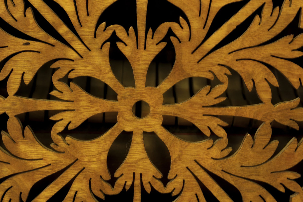 Traditional Wooden Carving