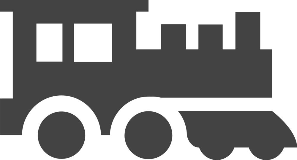 Train Glyph Icon
