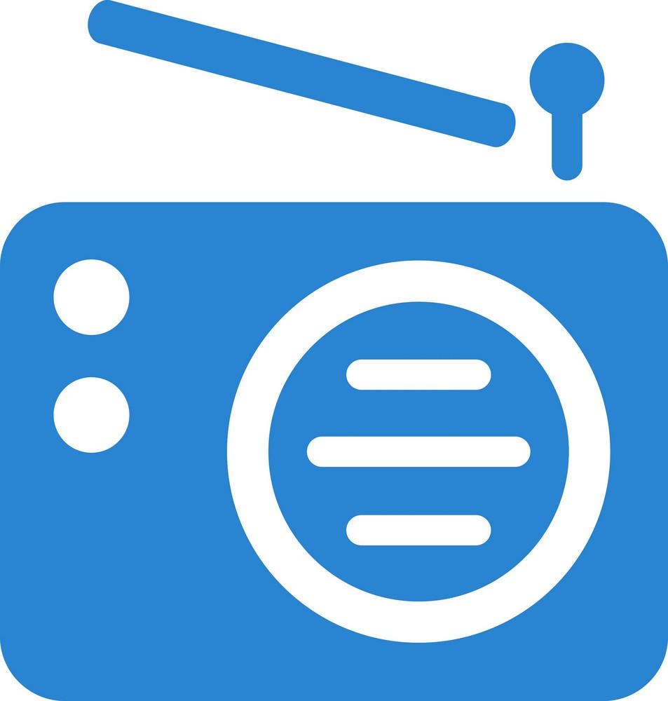 Transistor Radio Simplicity Icon