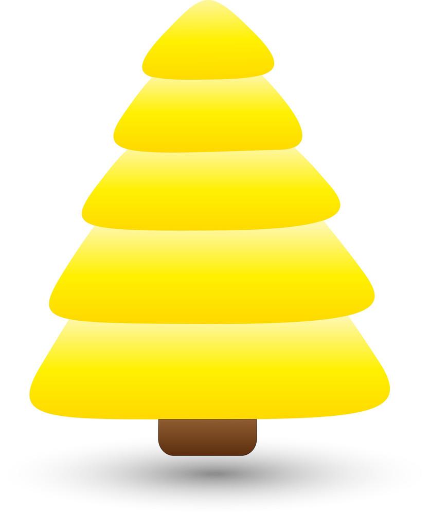 Tree - Christmas Vector Illustration