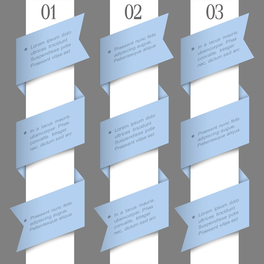 Trendy Paper Numbered Banners