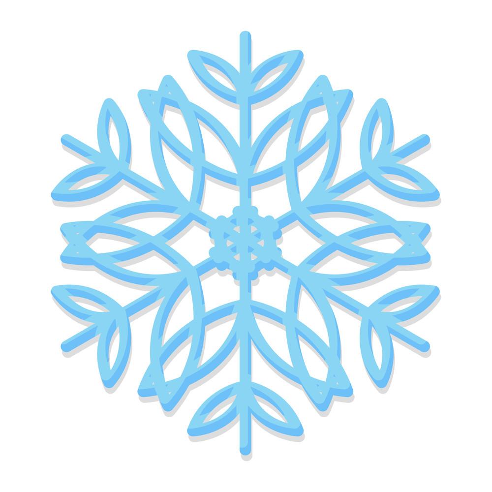 Trendy Snowflake