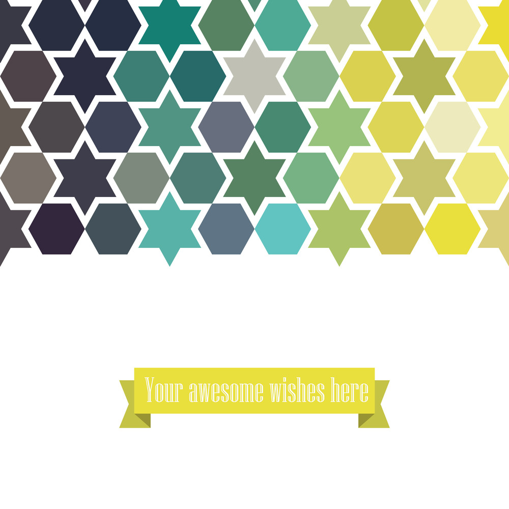 Triangle Template Background