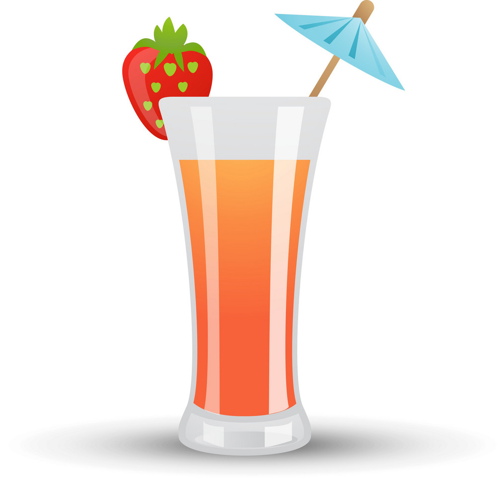 Tropical Cocktail Icon 2
