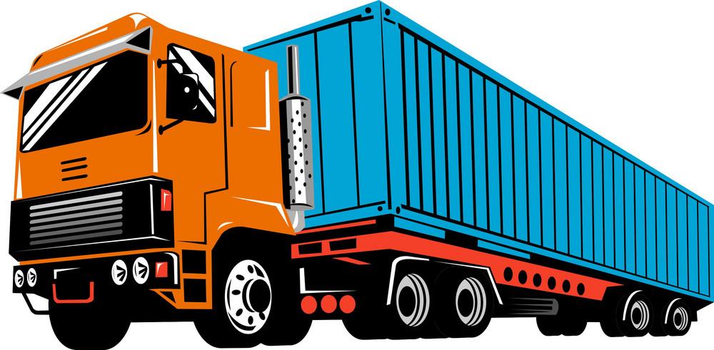 Truck Lorry Retro