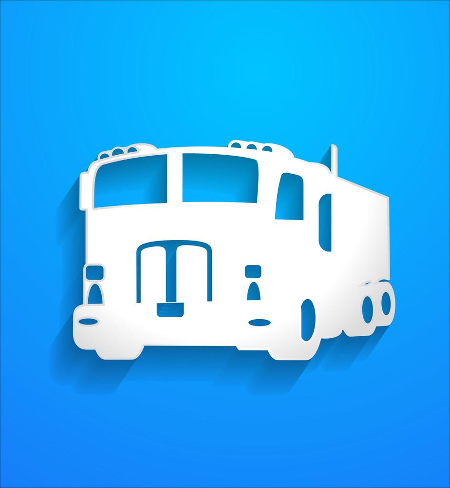 Truck Vector Shape