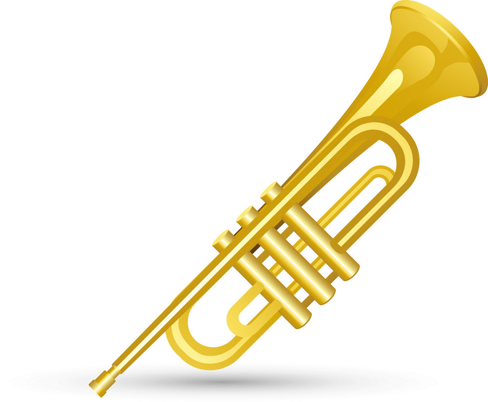 Trumpet Lite Music Icons