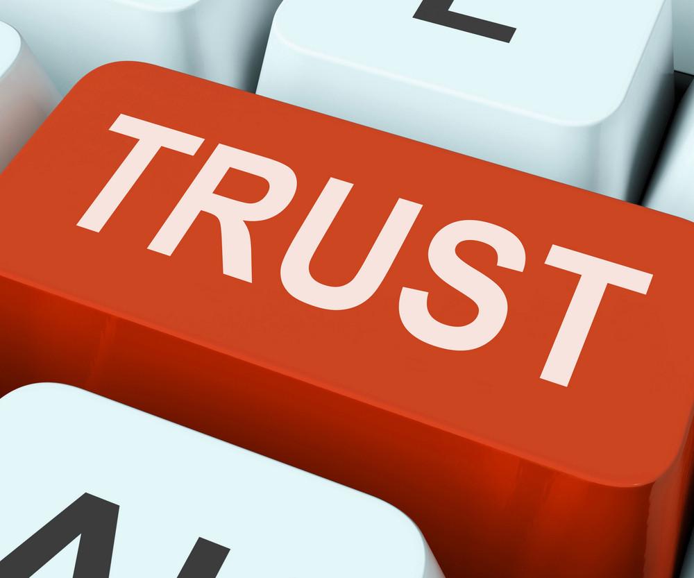 Trust Key Means Believe Or Faith