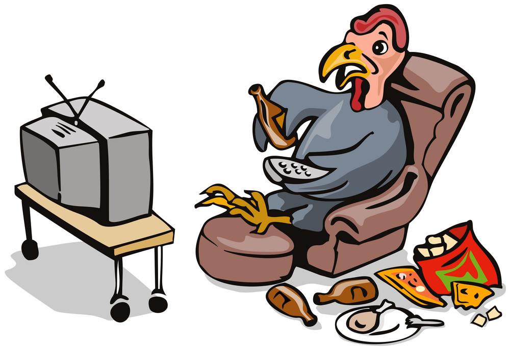 Turkey Watching Tv