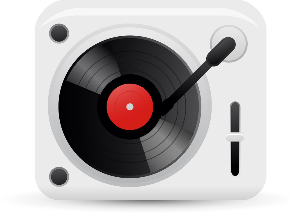 Turntable Lite Music Icons