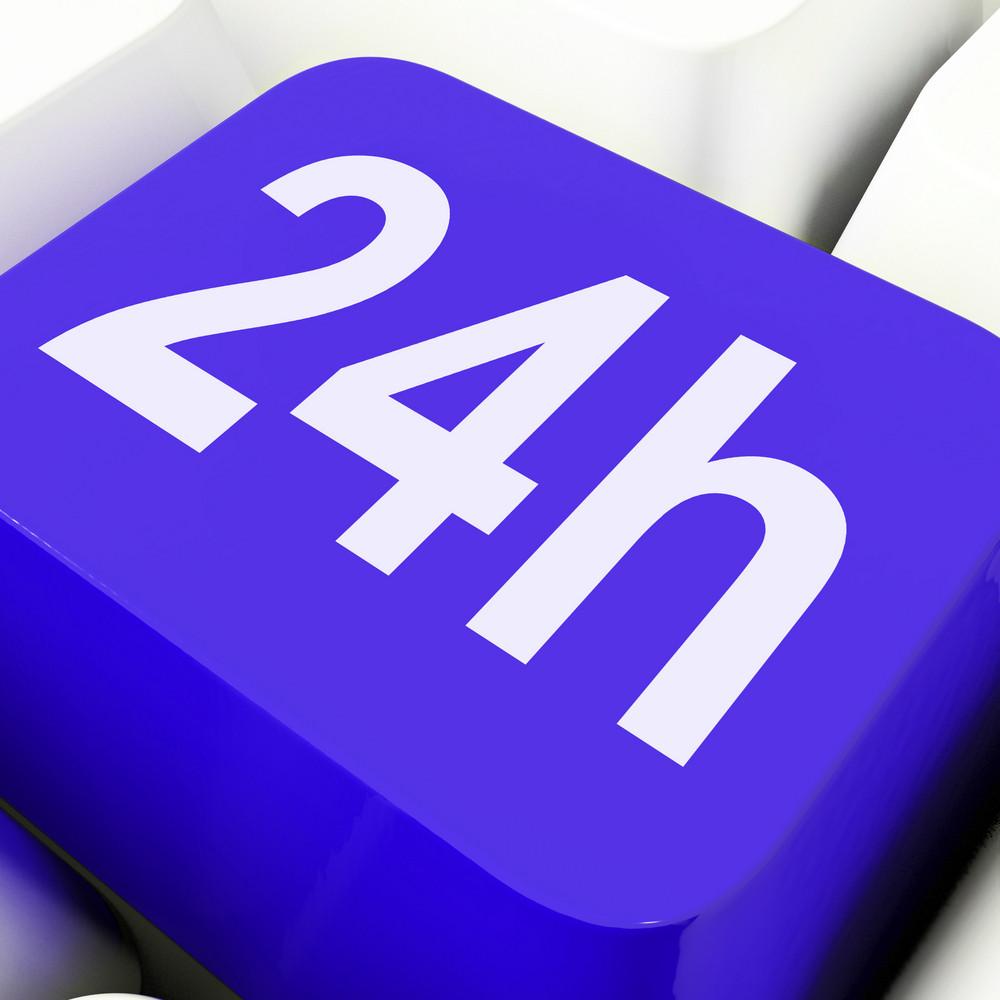 Twenty Four Hours Key Shows Open All Day