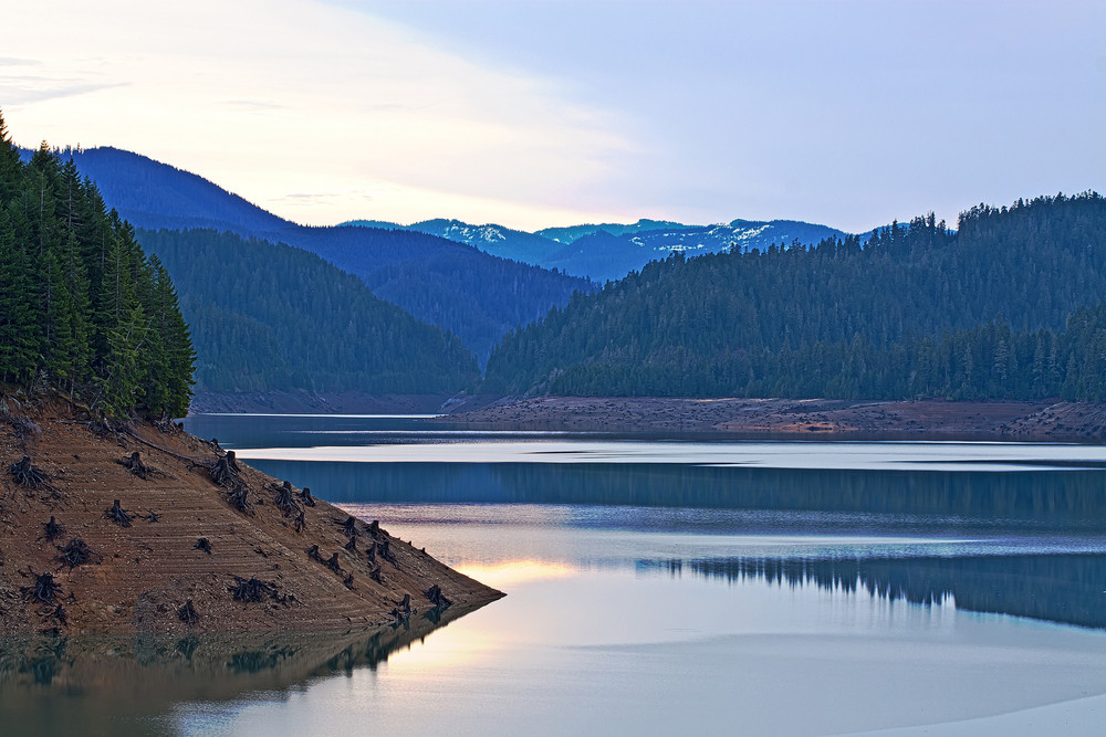 Twilight Reservoir