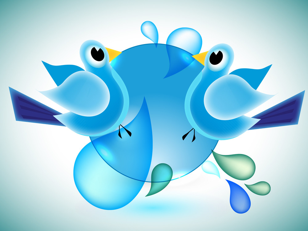 Twitter Birds Communicating