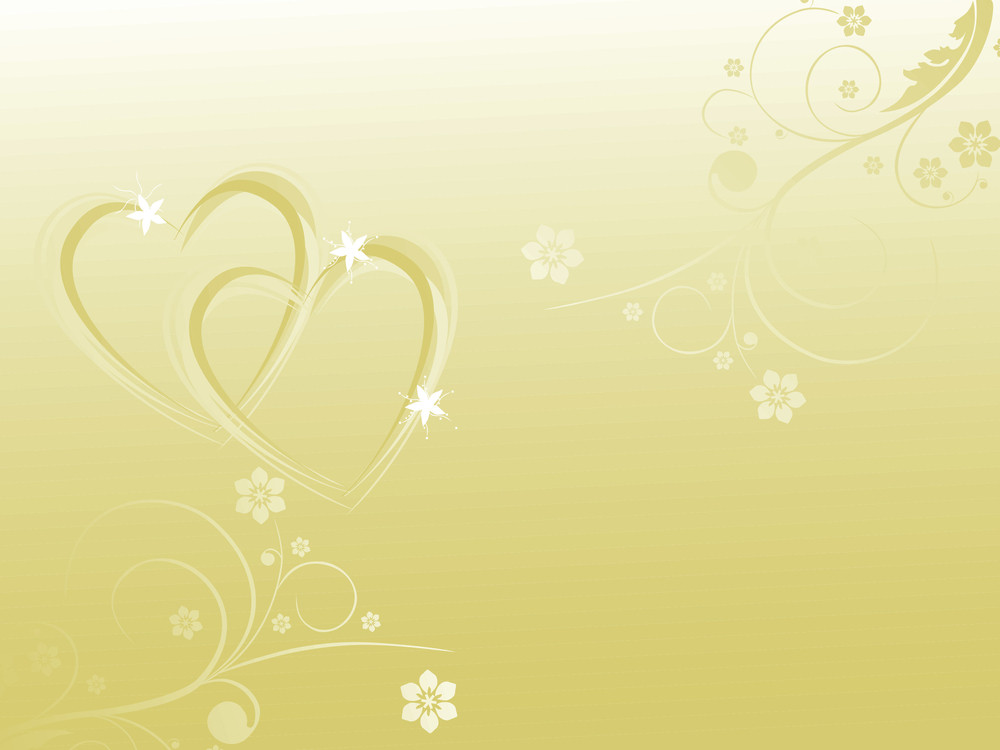 Two Hearts Frame On Sea Gray Background