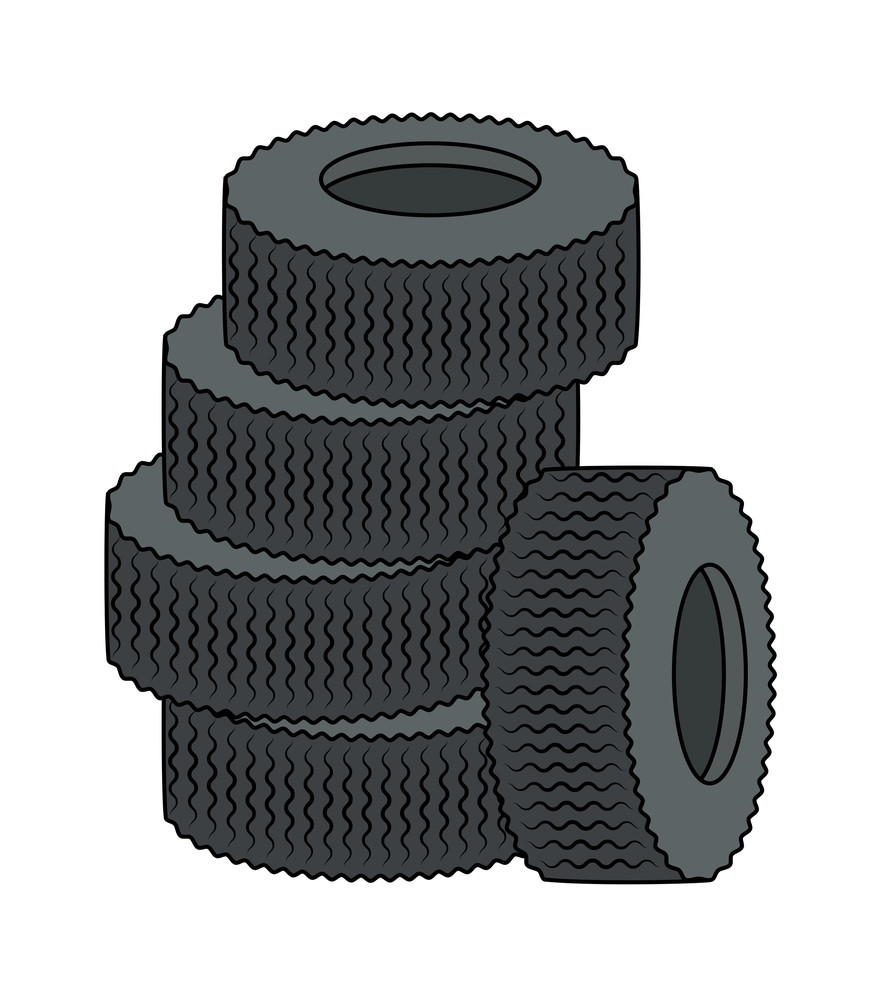 Tyres Vector Collection