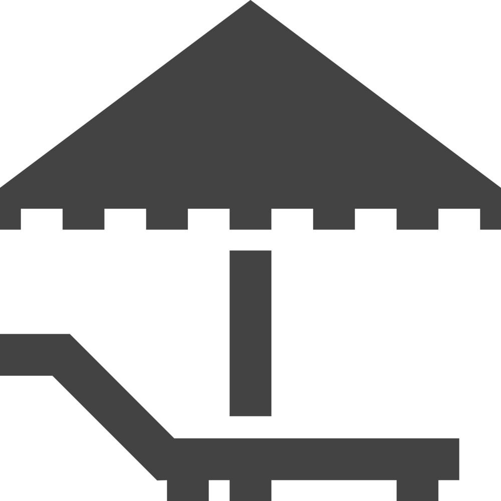 Umbrella 1 Glyph Icon