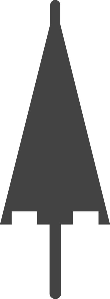 Umbrella 2 Glyph Icon