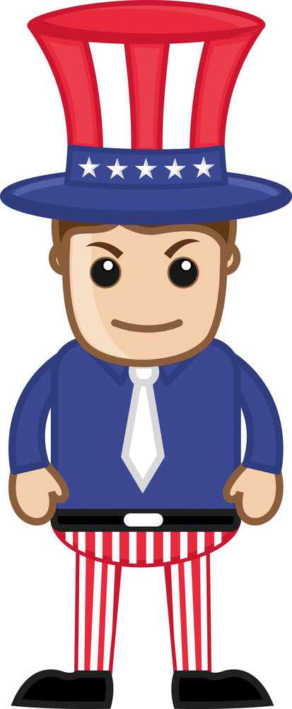 Uncle Sam - Business Cartoon Characters