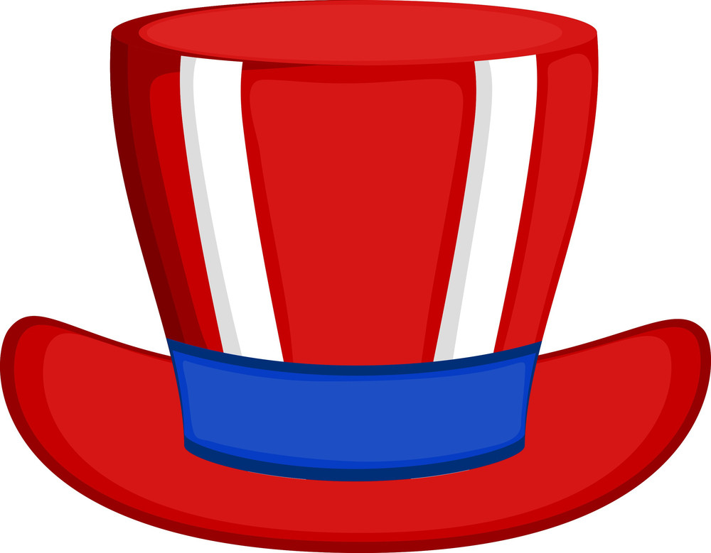 Uncle Sam Hat Vector Design