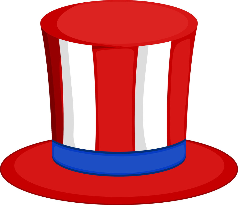 Uncle Sam Hat Vector Illustration