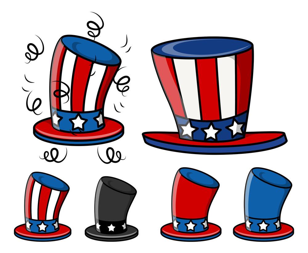 Uncle Sam Hats Set