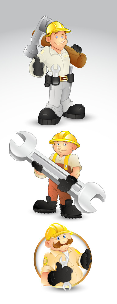Under Construction Characters