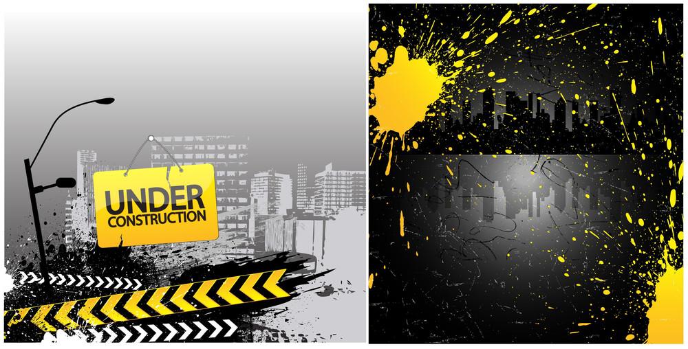 Under Construction Vectors