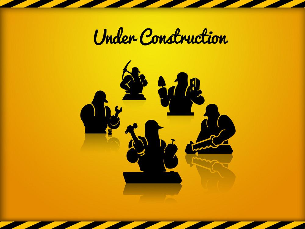 Under Construction Web Graphic