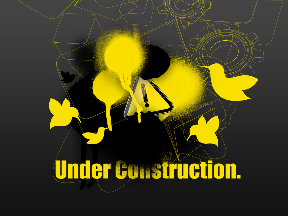 Under Construction Web Template