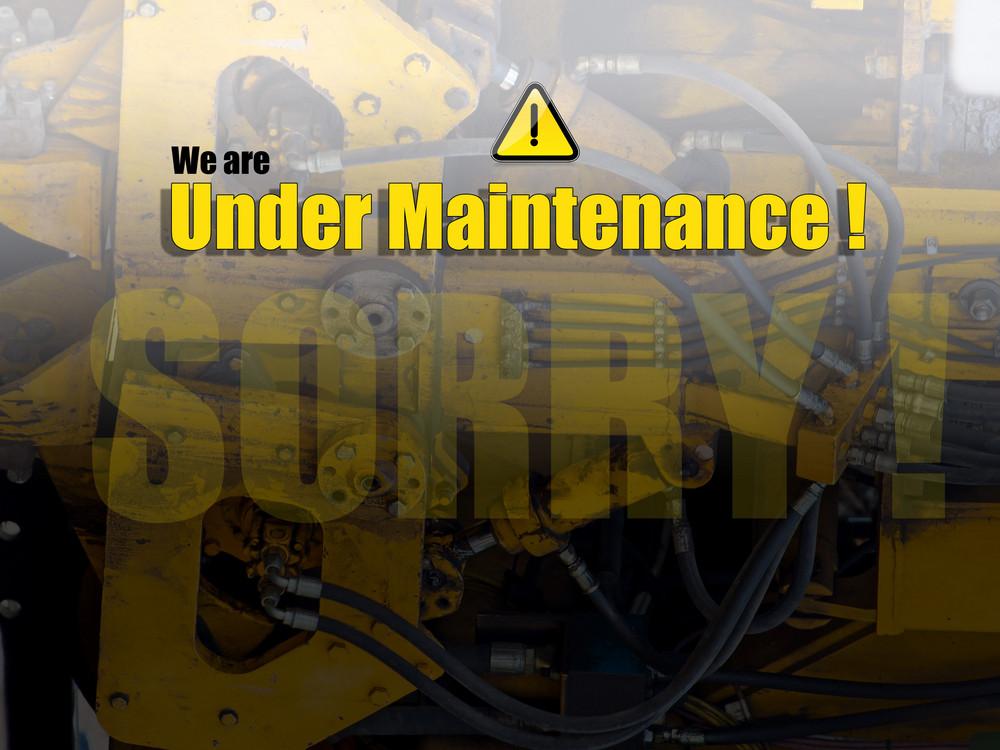 Under Maintenance Website