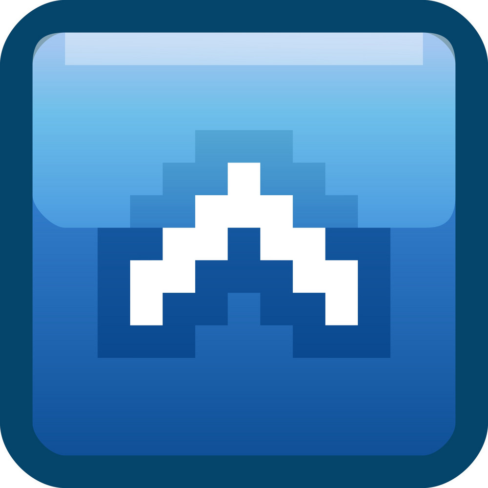 Up Arrow Blue Tiny App Icon