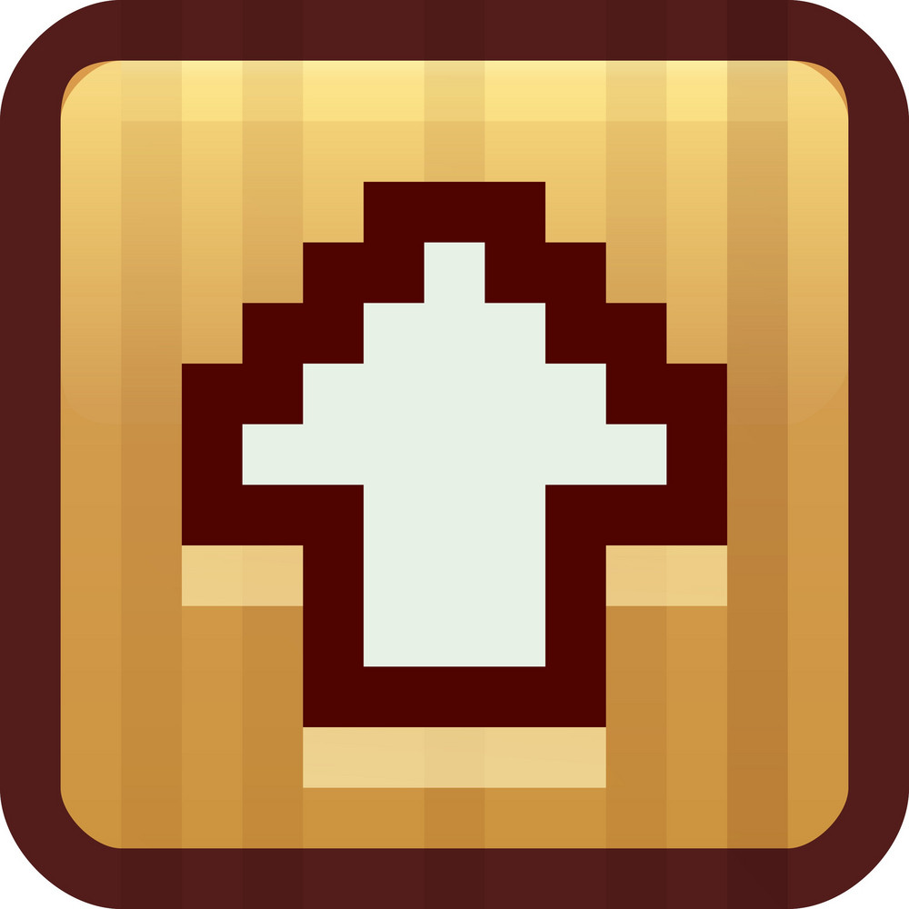 Up Arrow Broan Tiny App Icon